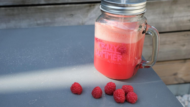 Raspberry Grapefruit Lemonade