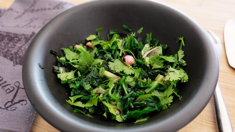 Radish Asian Salad