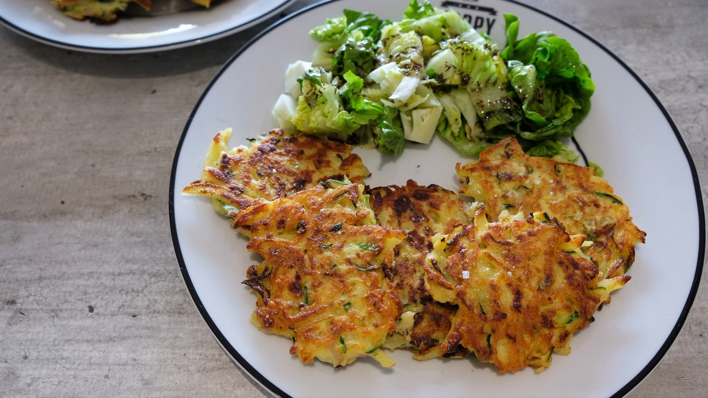 Potatoes & Zucchini Fritters